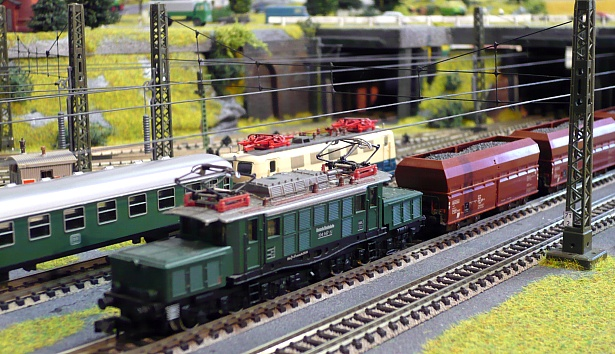 where the model trains disappear. Or do they come back?